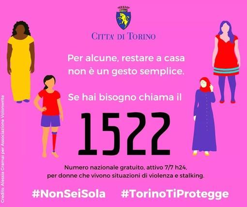 """Violenza sulle donne, a Torino volantini informativi nelle farmacie. Giusta: """"Non ignorate quando sentite urla"""""""