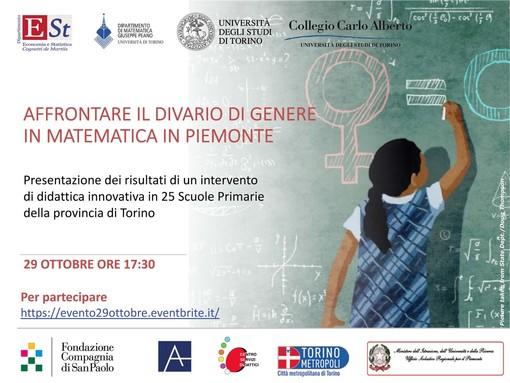 """""""Affrontare il divario di genere in matematica in Piemonte"""""""