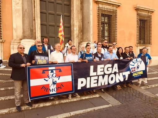 """Chivasso """"unisce"""" il centrodestra: Lega e Forza Italia inaugurano la sede condivisa"""