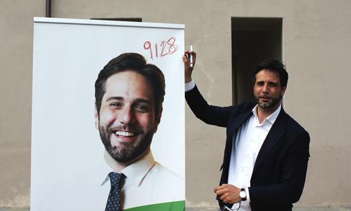 Enzo Lavolta, candidato alle primarie del centrosinistra