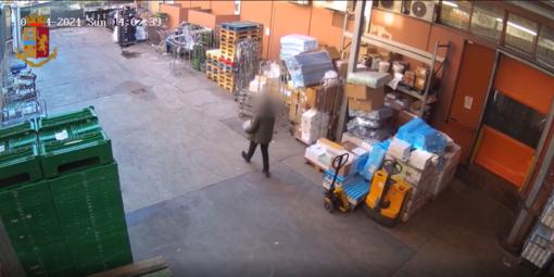 Immagini di videosorveglianza