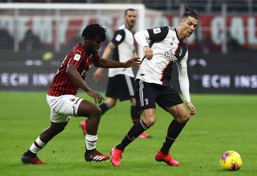 La Juve tiene a battesimo il ritorno del calcio, stasera la seconda sfida di Coppa Italia contro il Milan
