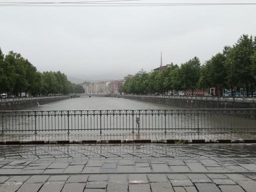 Maltempo, sale il livello del fiume Po e della Dora: la situazione e le previsioni meteo