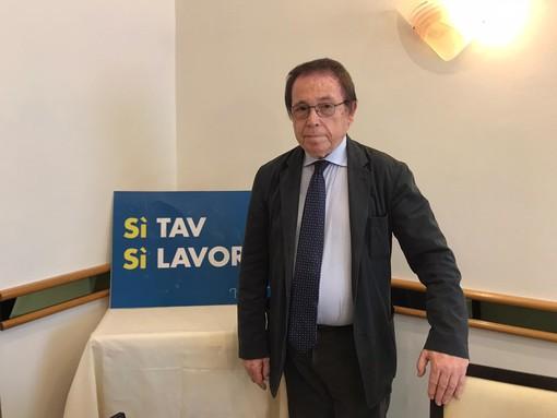 Mino Giachino, leader della lista Si Tav Si Lavoro
