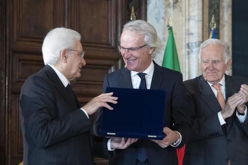 Mattarella premia i Molini Bongiovanni di Cambiano per il sostegno nella lotta ai tumori