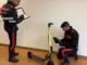 Non riesce ad attivare monopattino e danneggia le auto in sosta, arrestato dai carabinieri [VIDEO]