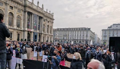 """L'urlo delle Partite Iva in piazza Castello: """"I contentini adesso non bastano piú"""" [VIDEO e FOTO]"""