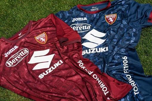 Le maglie di allenamento del Torino