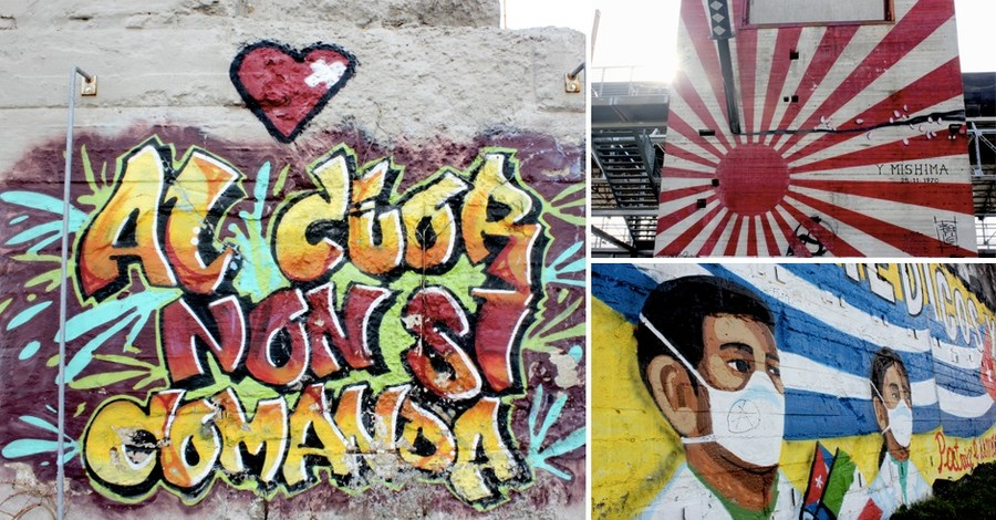 Parco Dora Tra Graffiti E Murales La Casa Dei Writers E Un Museo D Arte Urbana A Cielo Aperto Fotogallery Torino Oggi
