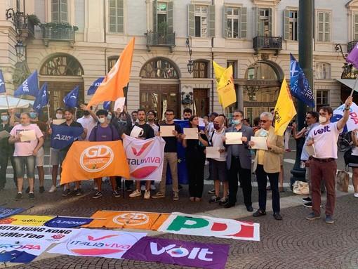 Foto: dalla pagina Facebook Italia Viva Torino