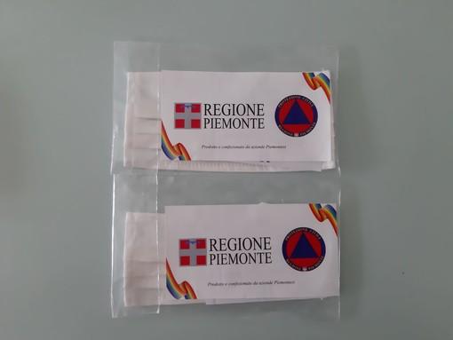 Coronavirus, si conclude a Grugliasco la distribuzione delle mascherine della Regione