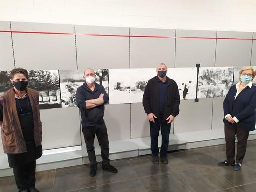 """Binaria apre il proprio spazio espositivo, don Ciotti: """"L'arte è la saldatura tra etica e bellezza"""""""