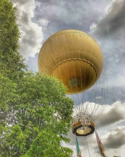 mongolfiera - foto di repertorio