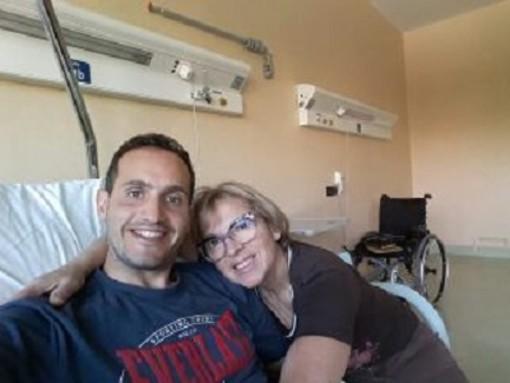 Nichelino, partita la raccolta fondi per Mirko, padre malato di una bimba di pochi mesi