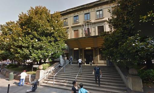 Ingresso principale ospedale Mauriziano di Torino