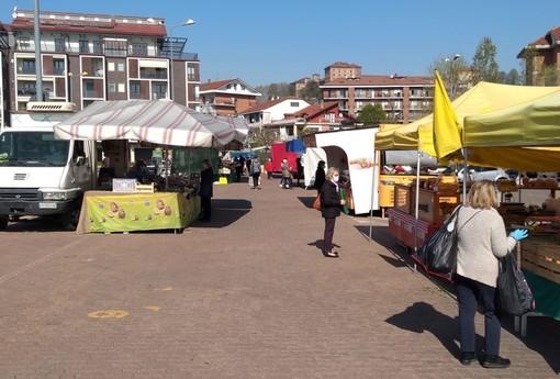 Coronavirus, il mercato del centro storico di Moncalieri venerdì resterà chiuso
