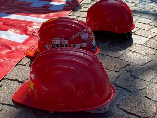 Presidio di lavoratori edili