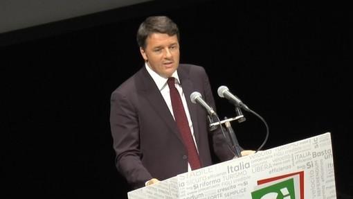 Matteo Renzi a Torino per lanciare Italia Viva in Piemonte
