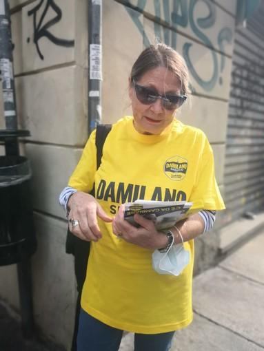 maglietta pro Damilano