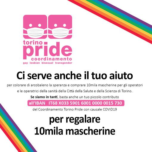"""Torino Pride: """"Niente parata il 20 giugno, faremo flash mob all'insegna dell'arcobaleno"""""""