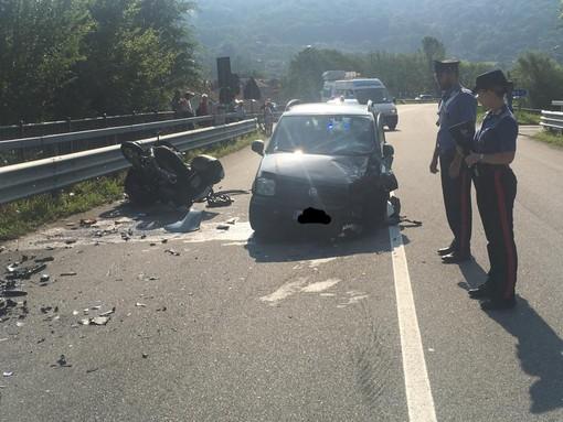 Scontro mortale a Villar Perosa: deceduta coppia di motociclisti astigiani