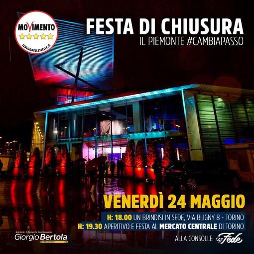 L'agenda elettorale di Giorgio Bertola per venerdì 24 maggio