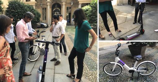 A Torino passi avanti per la micromobilità: Appendino testa bici e monopattini elettrici [FOTO]