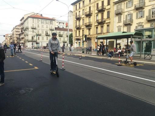 Da metà novembre a Torino monopattini in sharing