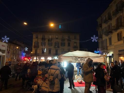 """Il Natale arriva in Circoscrizione 7 con """"Il ponte incantato"""" e le luci in Piazza Borromini"""