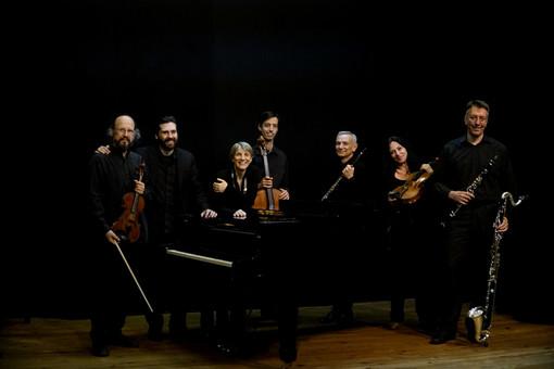 Le quattro interpreti femminili del New Made Ensemble di Milano al Borgo Medievale