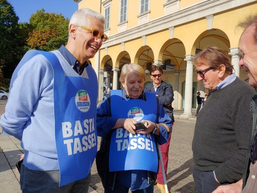 No Tax Day: al via in Piemonte alla battaglia di Forza Italia