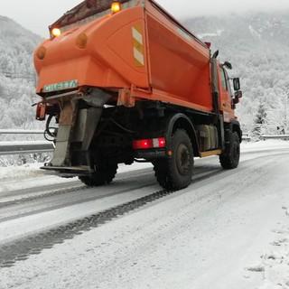 Prima neve su Torino e provincia: la viabilità metropolitana è al lavoro