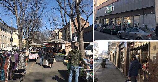 Coronavirus, in Campidoglio tutti i negozi aperti ma ingressi limitati: tanti i residenti in strada nonostante i divieti