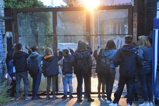 """Riparte la protesta No Tav in Valsusa: ieri sera """"battitura"""" del cantiere di Chiomonte"""