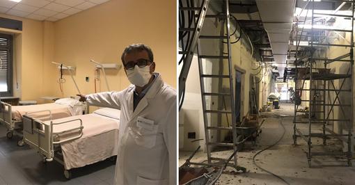 """""""Qui è un turn-over continuo di pazienti"""": viaggio all'interno dell'Oftalmico, Covid-Hospital di Torino  [VIDEO]"""