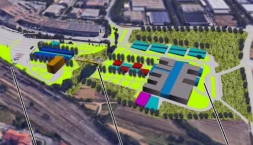 piantina del futuro ospedale unico a Vadò