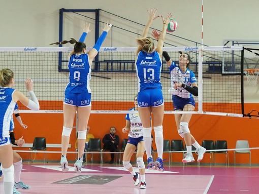 L'Eurospin Ford Sara Pinerolo Volley chiude in bellezza il 2019
