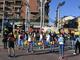 flash mob nichelino - foto d'archivio