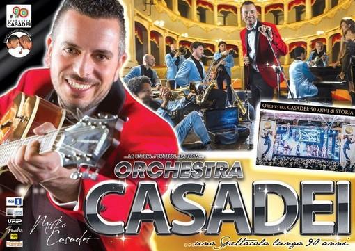 L'Orchestra Mirko Casadei farà ballare tutti stasera a Nichelino
