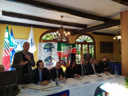 Ora è ufficiale: Fabio Giulivi è il candidato sindaco di Venaria proposto dalla coalizione di centro-destra [FOTO e VIDEO]
