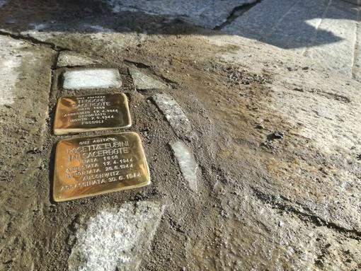 """Le pietre d'inciampo nel progetto """"Adotta un monumento"""""""