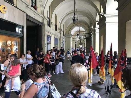 foto di repertorio di una manifestazione di protesta
