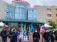 protesta dei lavoratori dell'ospedale di settimo torinese