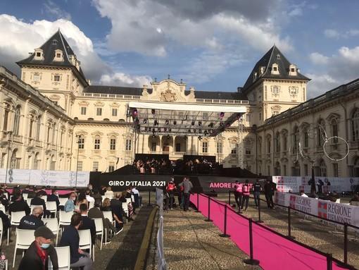 Presentazione del Giro al Castello del Valentino