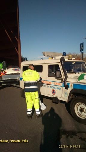 Nichelino prova la tenuta della macchina di protezione civile