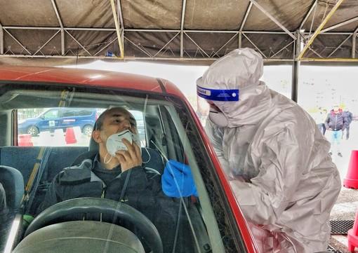 Test Covid al pit-stop per automobilisti