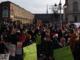 protesta degli studenti in piazza Castello