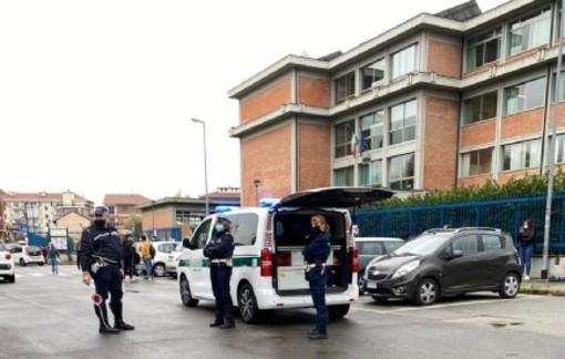 auto della polizia municipale di Moncalieri - foto di repertorio