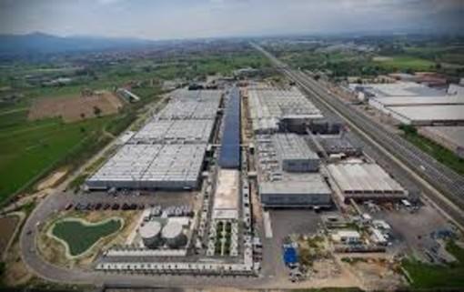 stabilimento industriale visto dall'alto