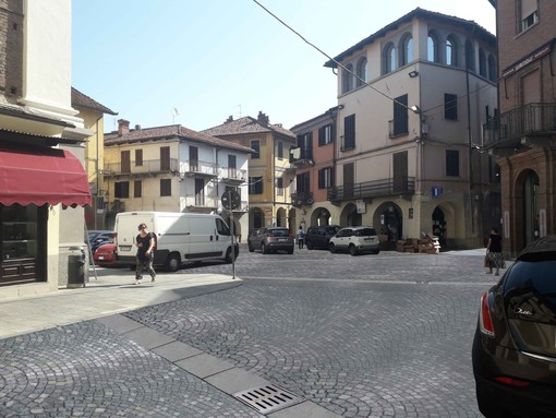 piazza Garavella a Carmagnola